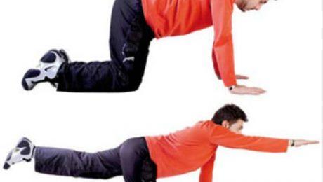 تمرینات کمر درد